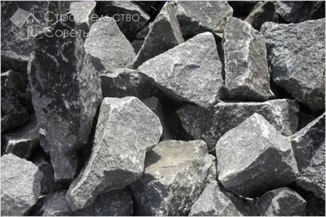 Как выбирать бутовый камень
