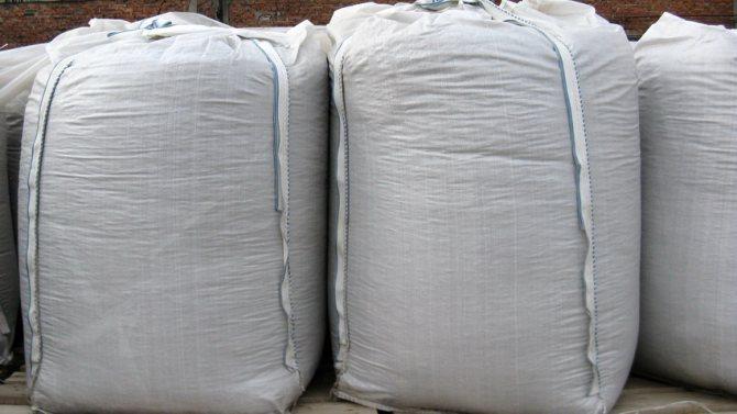 Керамзит фасованный в мешки более удобен в транспортировке