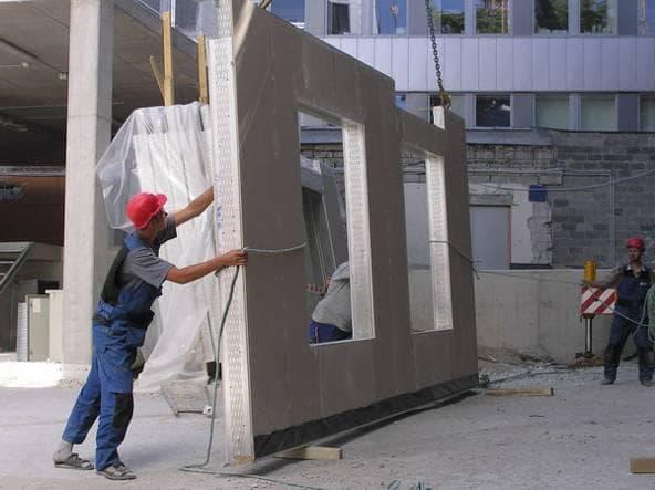 керамзитобетонные панели стеновые для чердака
