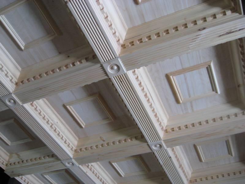 Кессонные потолки - новое в дизайне