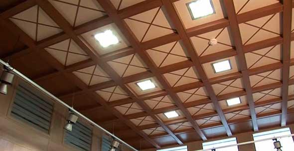 Кессонный потолок из МДФ
