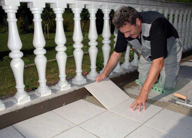 Клей для плитки на цементной основе
