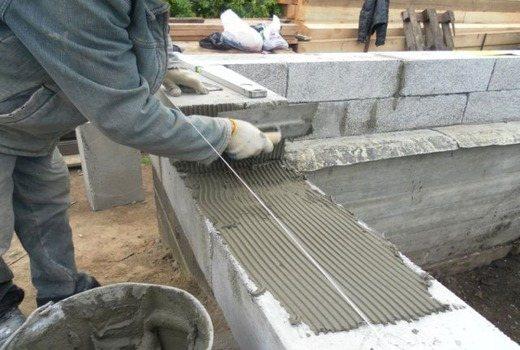Клей для полистиролбетонных блоков