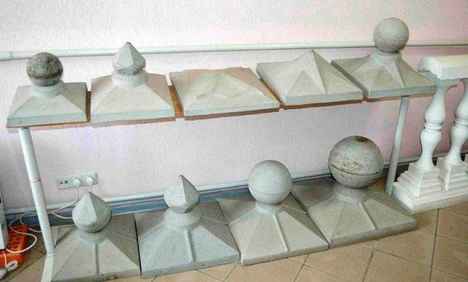 Колпаки на столбы