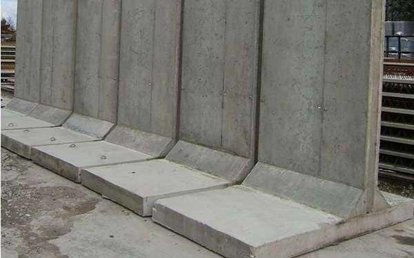 Консольная подпорная стена