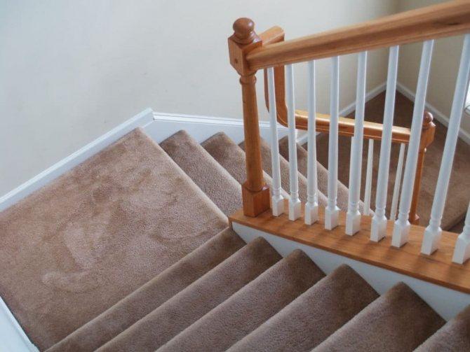 Ковролин на лестницу