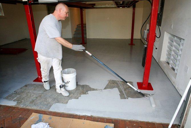 Краска для гаража должна быть моющейся, огнестойкой, износостойкой