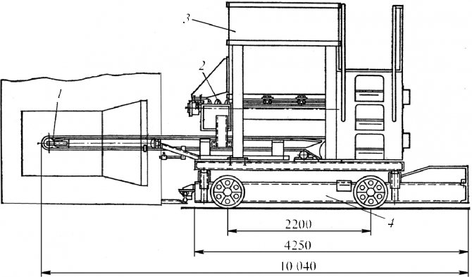 Ленточный питатель СМЖ-425 для производства безнапорных железобетонных труб методом центрифугирования
