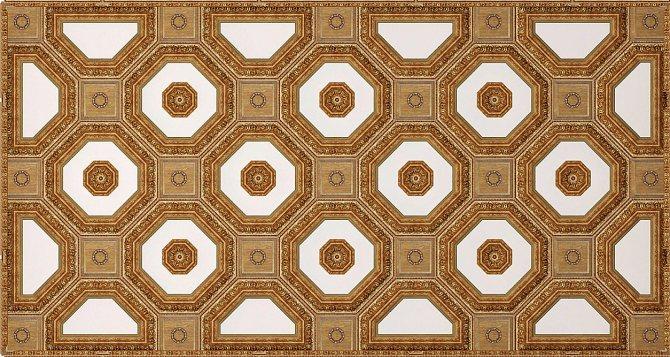 Макет кессонного потолка