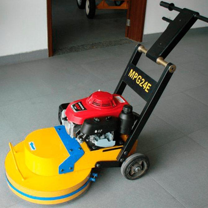 машина для шлифовки бетона