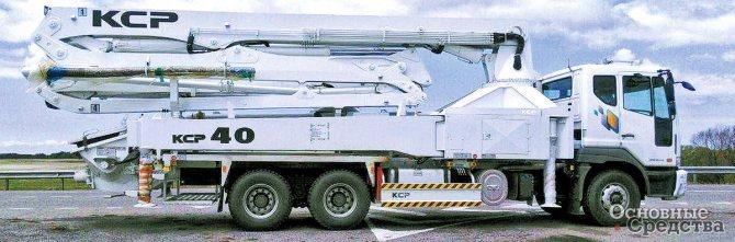 Модельный ряд АБН компании KCP Heavy Industries Co. Ltd состоит более чем из 20 моделей