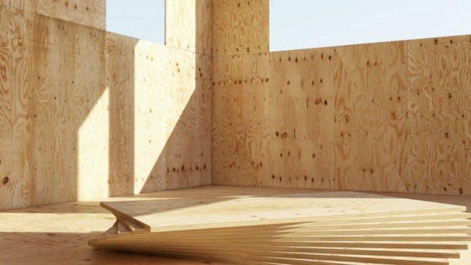 Монтаж фанеры на бетонный пол