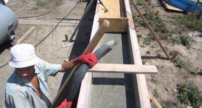Можно ли заливать фундамент зимой под дом