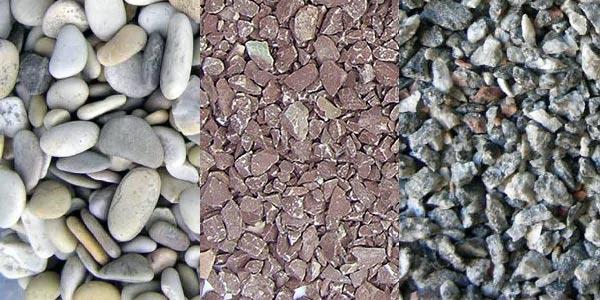Наполнители для мытого бетона