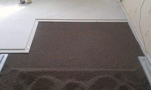 Облегченная стяжка бетонного пола