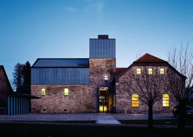 Облицовка здания из баварского кирпича