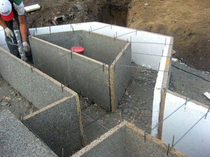 Опалубка из бетона