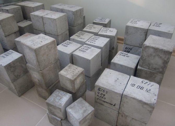 определение марки бетона самостоятельно