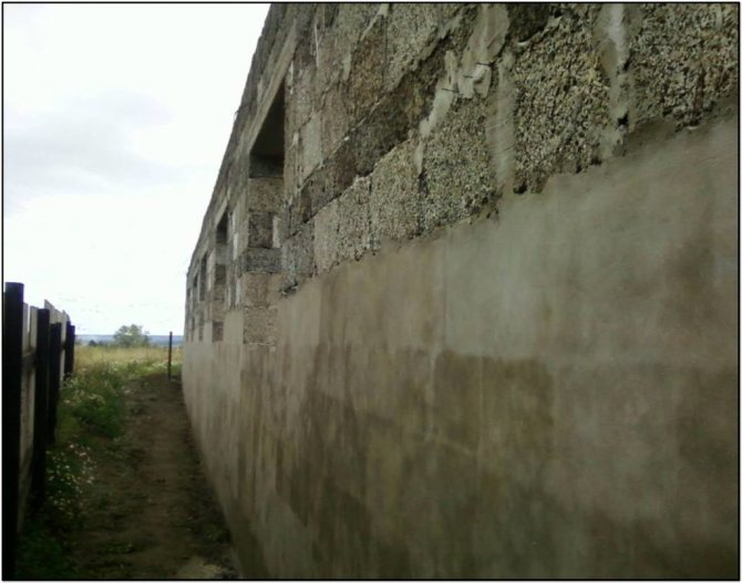 оштукатуривание стен из арболита