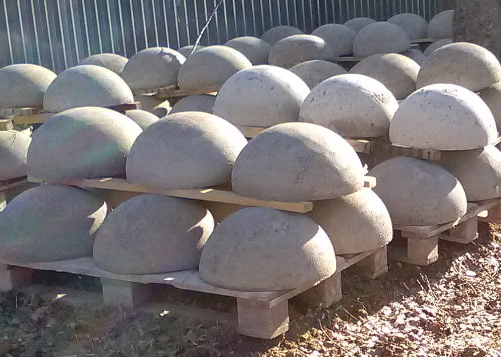 особенности полусфер из бетона