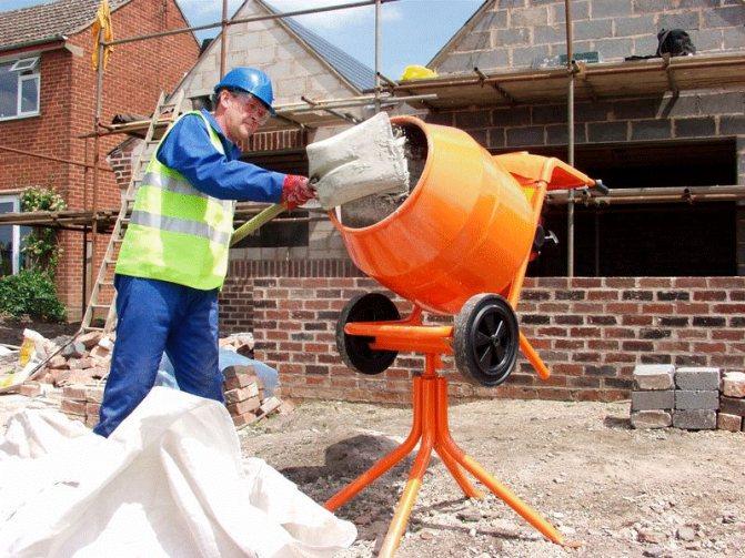 От вместительности барабана зависит производительность работ