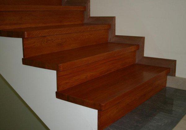 Отделка бетонной лестницы в частном доме своими руками