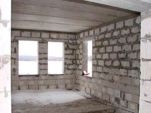 Отделка стен из газобетона внутри помещения своими руками фото