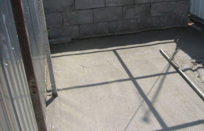 Пенобетон: альтернатива традиционному бетонному полу