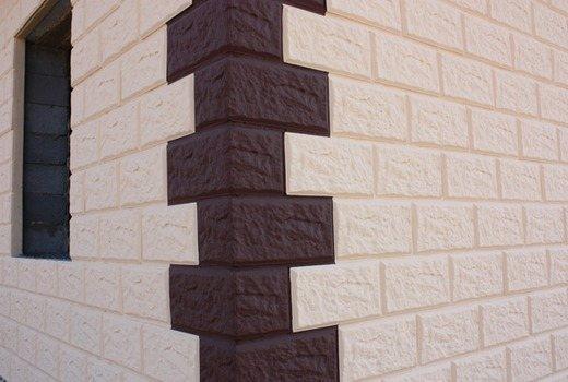 Пеноблок с фасадной поверхностью