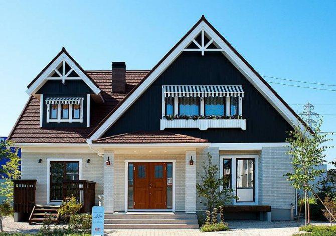 планировка дома 8 на 8 двухэтажный из пеноблоков
