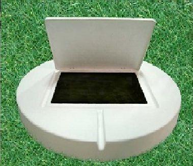 Плита бетонная с люком