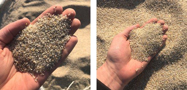 Плотность кварцевого песка