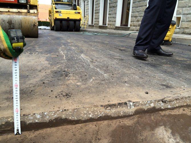 По каким правилам рассчитывается асфальт, необходимый для создания 1 квадратного метра покрытия.