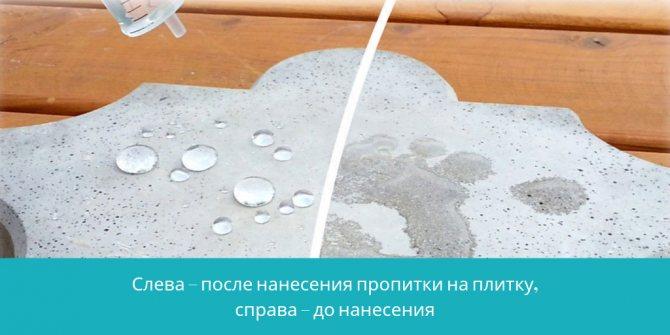 Покрытие для бетона на улице используемые защитные составы