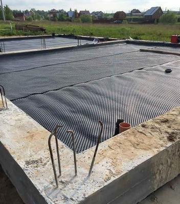 Пол по грунту без бетонной подготовки на первом этаже дома