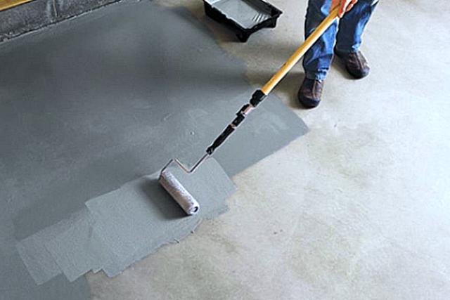 Полимерная краска для бетонного пола. Виды и особенности красок для бетонных полов