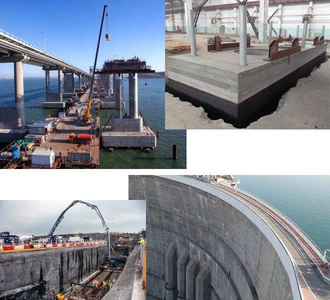 применение бетона m400
