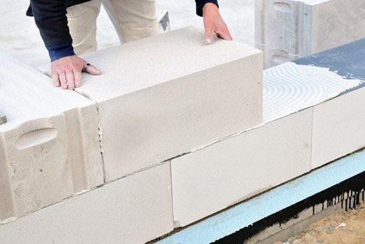 Применение ячеистых бетонов