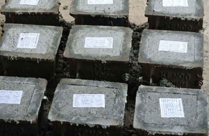 прочность марка и класс бетона