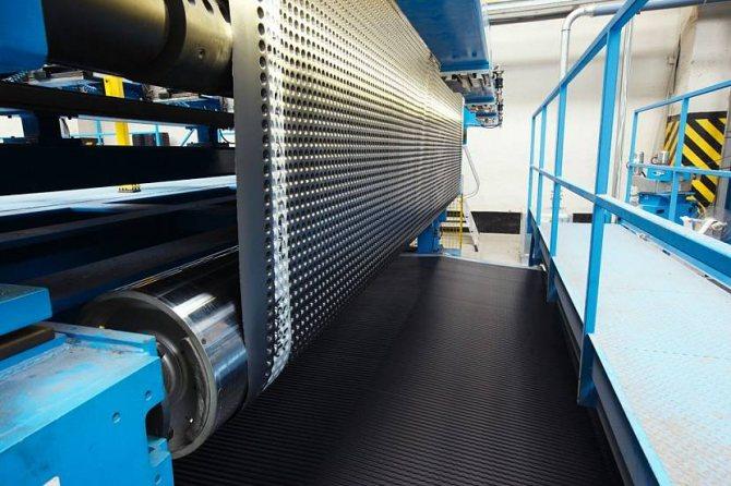 Производство гидроизоляционных мембран