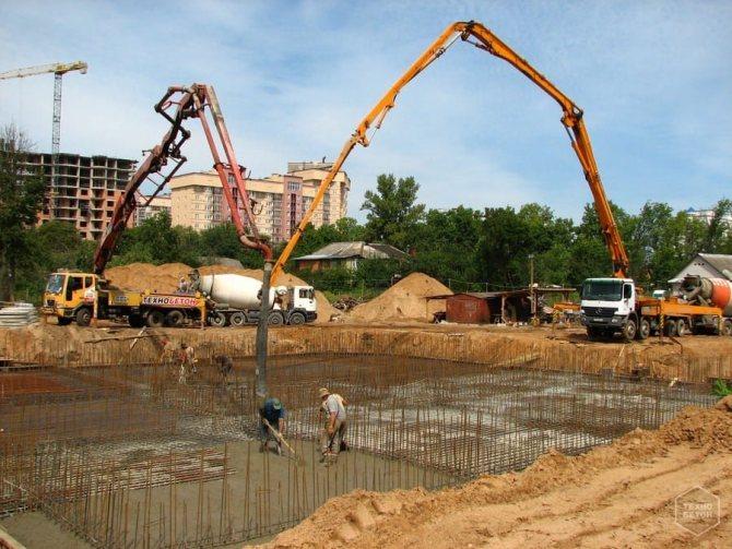 промышленный бетононасос