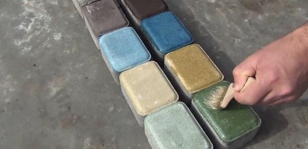 пропитка для цветного бетона