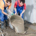 Пропорции цемента и песка для стяжки пола по бетонной плите