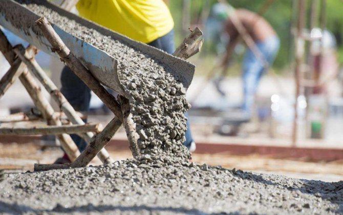 расчет цемента на кубометр бетона