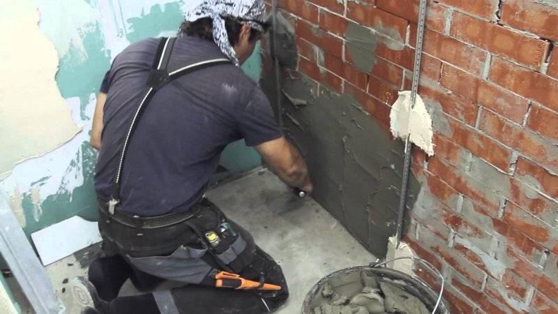 Раствор для штукатурки стен своими руками пропорции