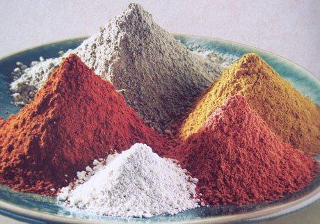 разновидности глины