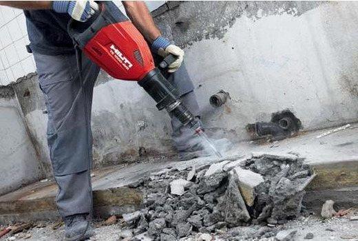 Разрушение армированого бетона
