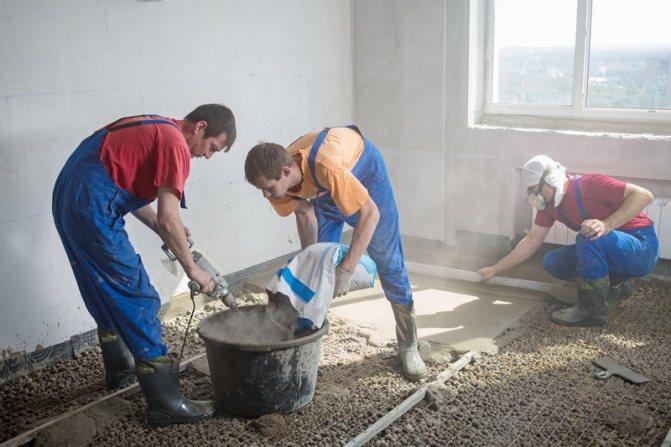 Рекомендации профессиональных строителей