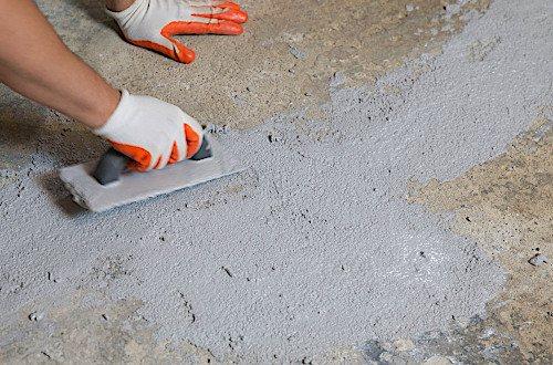 Ремонт бетона при помощи расширяющейся смеси