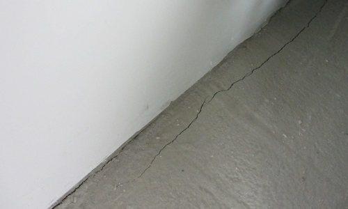 Результат пластической усадки бетона